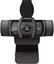 Logitech C920S Pro HD Webcam with Privacy Shutter - Widescreen Video Calling and Recording, 1080p Camera, Desktop or Lapto...