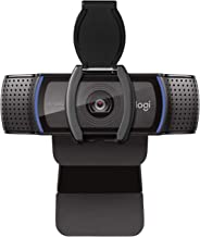 Logitech C920S Pro HD Webcam with Privacy Shutter - Widescreen Video Calling and Recording, 1080p Camera, Desktop or Laptop Webcam, Black_with Shutter (Renewed)