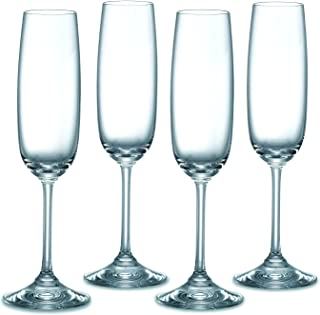 Waterford 100636M Vintage Entertainment Collection Flute Glasses, 6 ounces, Clear