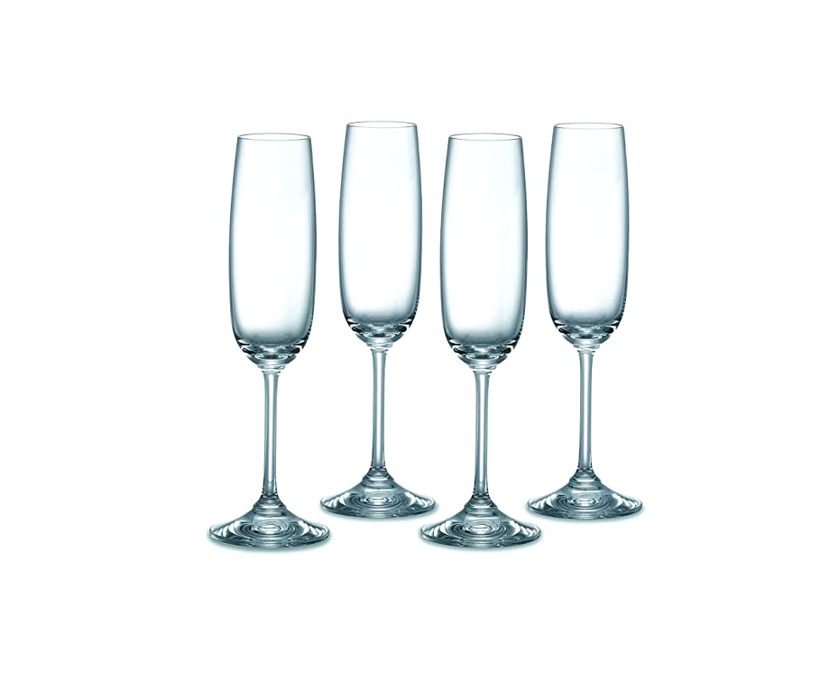 植生たっぷり運河Marquis by Waterford Vintage Champagne Flutes, Set of 4 by Waterford
