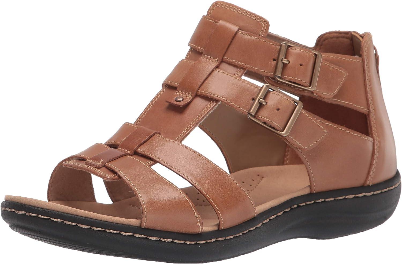 Clarks Women's Laurieann Flat Sandal Remi Cheap mail order Max 78% OFF shopping