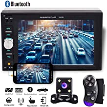 "Camecho 2 din Car Multimedia Player 1080P Full HD 6.2"" LCD Touch Screen Car Stereo.."