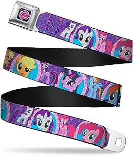 Buckle-Down Men's Seatbelt Belt My Little Pony Wmlp006