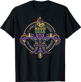 Mardi Gras Mask Gift Design Idea T-Shirt