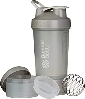 Blender Bottle ProStak Full Colour 650ml (22oz) - Pebble Grey