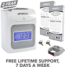 Calculating uPunch Starter Time Clock Bundle with 100-Cards, 1 Ribbon and 2 Keys (HN2500)