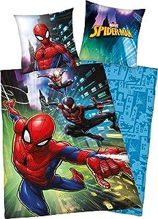 Klaus Herding GmbH Juego de Cama Spiderman, algodón,