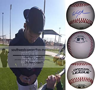 Wil Myers San Diego Padres Autographed Hand Signed Baseball with Exact Proof Photo of Will Signing and COA, Tampa Bay Rays