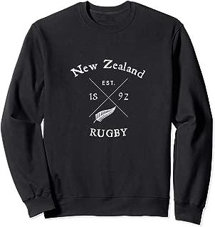 New Zealand Rugby Vintage Maori silver fern gift design Sweatshirt