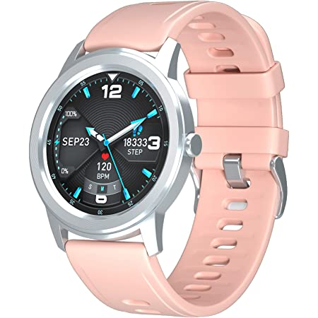 WAFA Smart Watch Fitness Tracker with Heart Rate Blood Pressure SpO2 Monitor IP68 Waterproof Sport Watch Calories Sleep Tracker Pedometer for Men Women Smartwatch Compatible with iPhone Android Phones