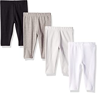 Hanes Girls' Ultimate Baby Flexy 4 Pack Knit Pants