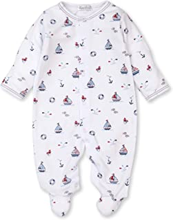 Kissy Kissy Unisex Baby Infant Summer Seas Print Footie