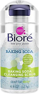 Biore Baking Soda Cleansing Scrub 4.5 oz (Pack of 4)