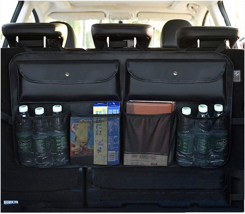 Back Seat Trunk Organizer Regular dealer For Backseat Pocket Trust Or 6 Family