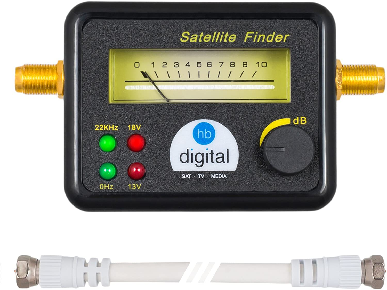 Localizador de satélite HB DIGITAL: Amazon.es: Electrónica