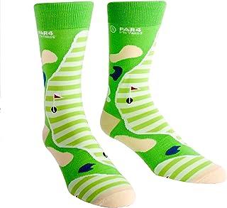 Sock It To Me, Par 4, Men's Crew Socks, Funky Golf Socks