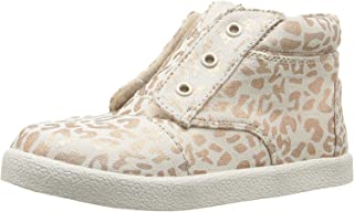 TOMS Rose Gold Cheetah Tiny Pahi Sneaker 10009062