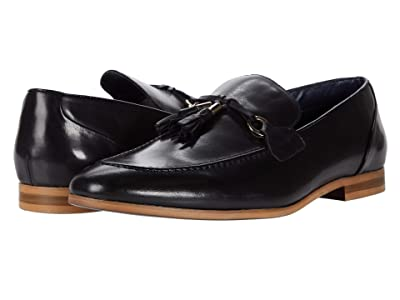 Steve Madden Divert Loafer (Black Leather) Men