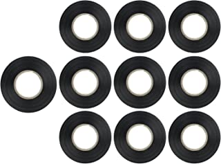Sunlite 41326-SU 10-Pack PVC Electrical Tape 61 Feet x 0.75 Inches, For Splicing, Protecting, and Insulating Wires, Abrasi...