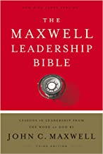 NKJV, Maxwell Leadership Bible, Third Edition, Hardcover, Comfort Print: Holy Bible, New King James Version