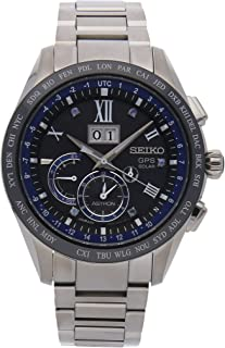 Seiko Astron GPS Solar Quartz (Battery) Black Dial Mens Watch SSE145 (Certified Pre-Owned)