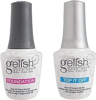 gelish foundation sticky