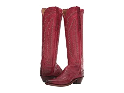 Lucchese Priscilla (Red) Cowboy Boots