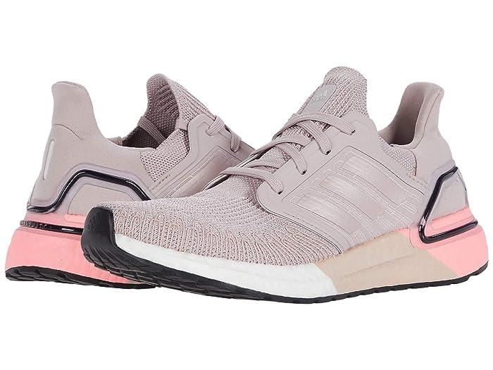 adidas Running  Ultraboost 20 (New Rose/New Rose/Light Flash Red) Womens Running Shoes