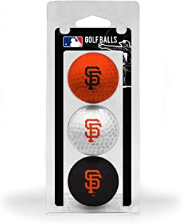 Team Golf MLB Regulation Size Golf Balls, 3 Pack, Full Color Durable Team Imprint