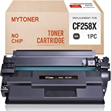 MYTONER (No Chip) Compatible Toner Cartridge Replacement for HP 58X CF258X High Yield Toner for Laserjet Pro M304 M404n M404dn M404dw MFP M428fdw M428fdn Printer Ink (Black,1-Pack)