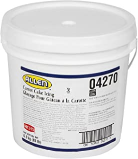 Rich's JW Allen Carrot Cake Icing, Ideal for Cakes & Cookies, 15 lb Pail