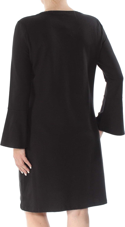 Tommy Hilfiger Women's Bell-Sleeve T-Shirt Dress