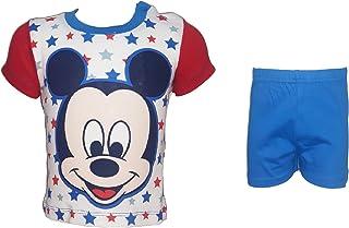 d93eb0100d pigiama corto neonato mezza manica puro cotone TOPOLINO mickey disney art.  WD 34-201