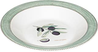 Wedgwood Sarah's Garden Fine Earthenware 11-Inch Pasta Bowl, Green