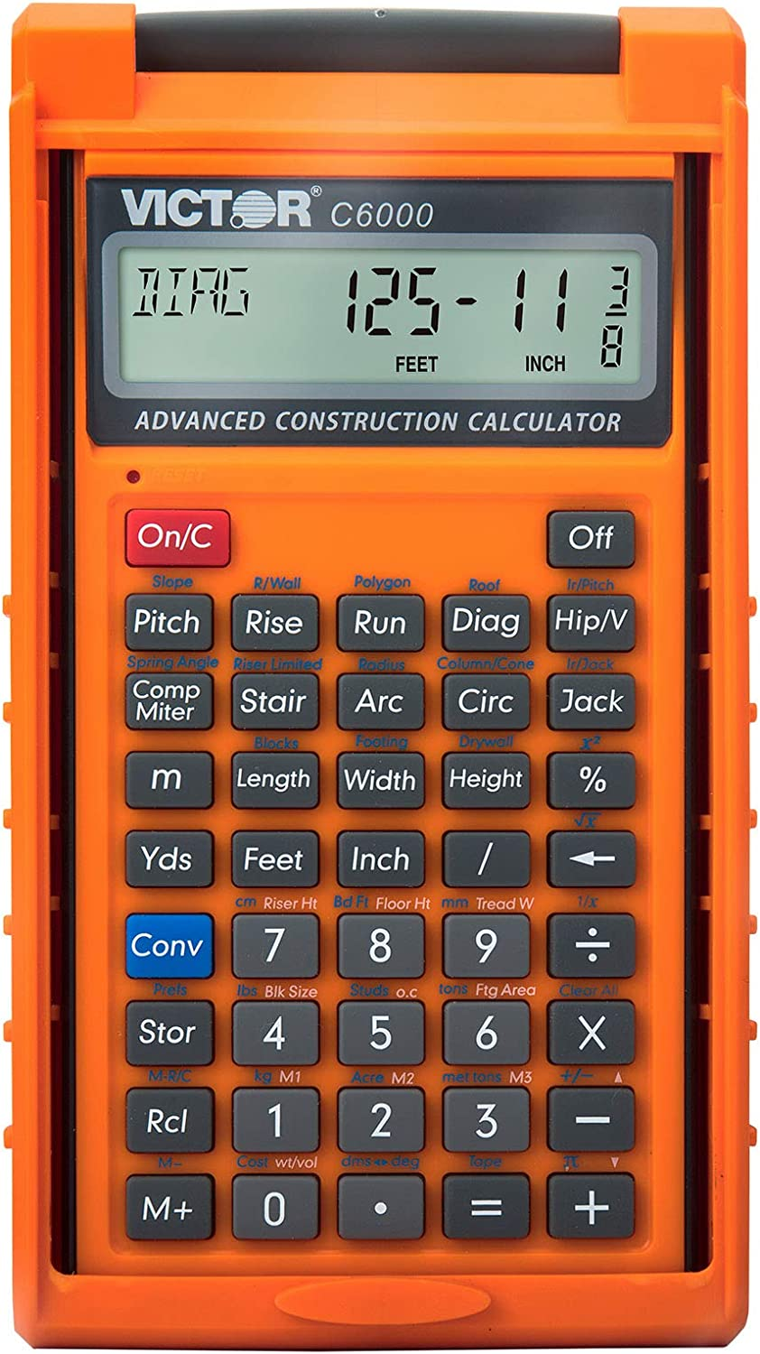 Victor C6000 Advanced Construction Max 61% OFF Direct stock discount Ca with Calculator Protective
