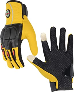 Radar Screen Bike Cycling Gloves Half Finger Bicycle Gloves Hard Knuckle Sports Riding Motorcycle Gloves for Outdoor Working