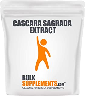 Bulksupplements Cascara Sagrada Extract Powder (100 Grams)