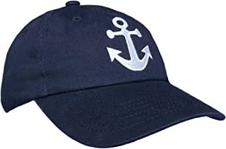 Tiny Expressions Boys' and Girls' Toddler Embroidered Anchor Baseball Hat
