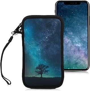 kwmobile Neoprene Sleeve for Smartphone Size L - 6.5