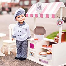 The Queen's Treasures Complete 18 inch Doll Bakery Shoppe stocked with Everything Needed to Open Shop! Interchangeable to Create Other Shoppe Themes.Designed to be Compatible American Girl