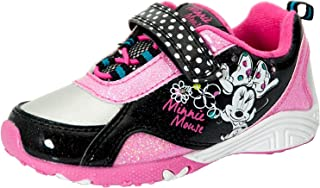 Disney Minnie Mouse Toddler Girl's Sneaker Pink/Black