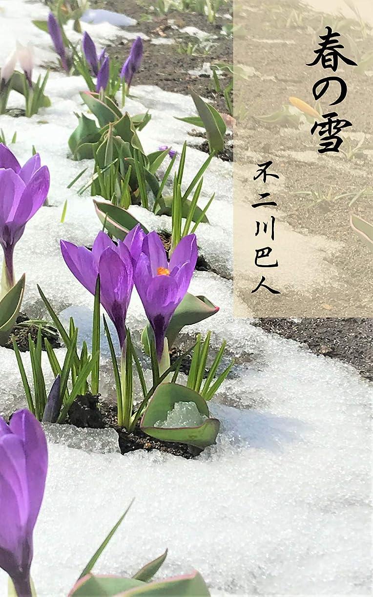傷つきやすい喪暗殺する春の雪