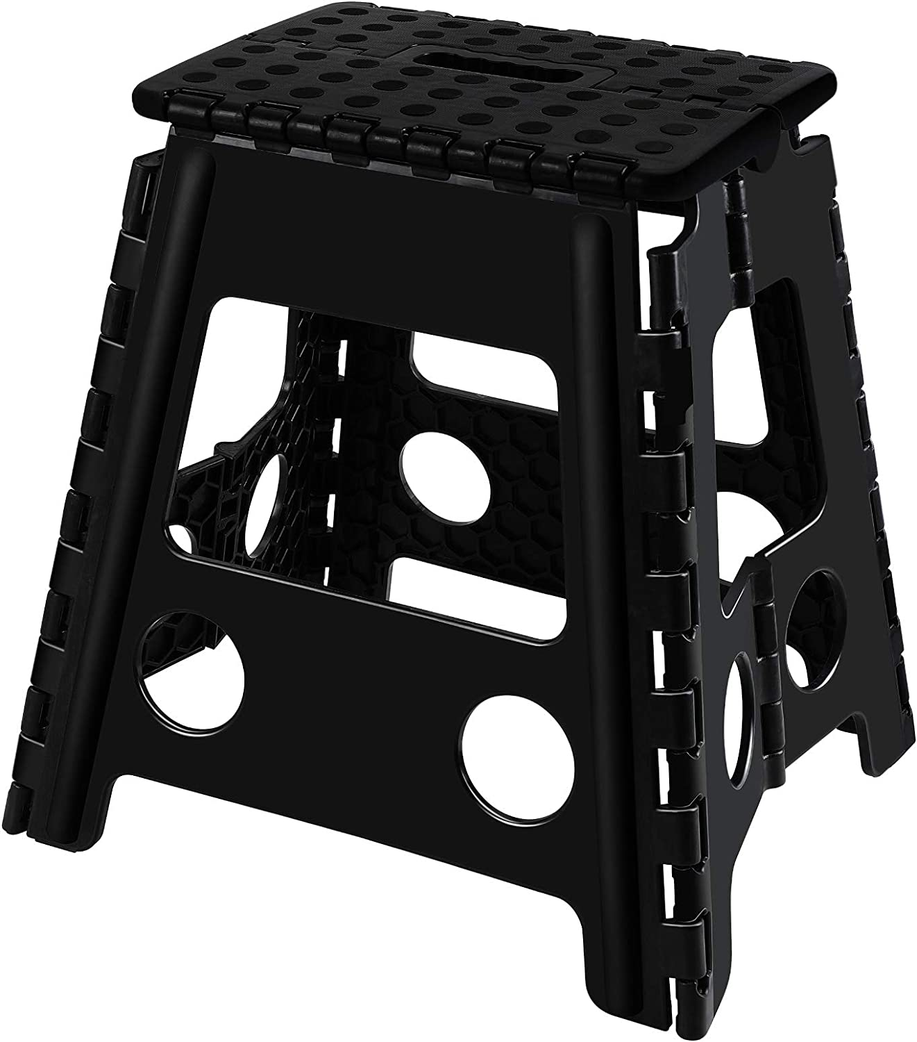 Topfun Folding Dealing full price reduction Step Stool 15 inch Adults Footstool 2021 for Non-Slip