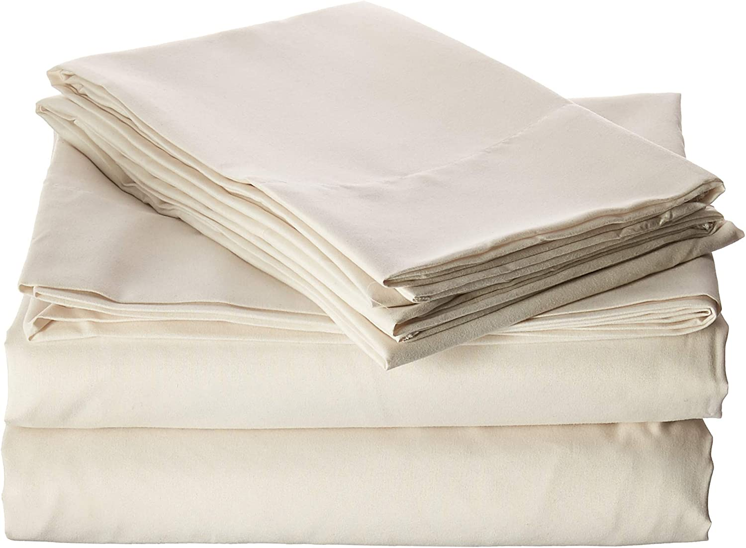 Truly Soft Sheet Sets for Everyday Use Ivory Queen Sheet