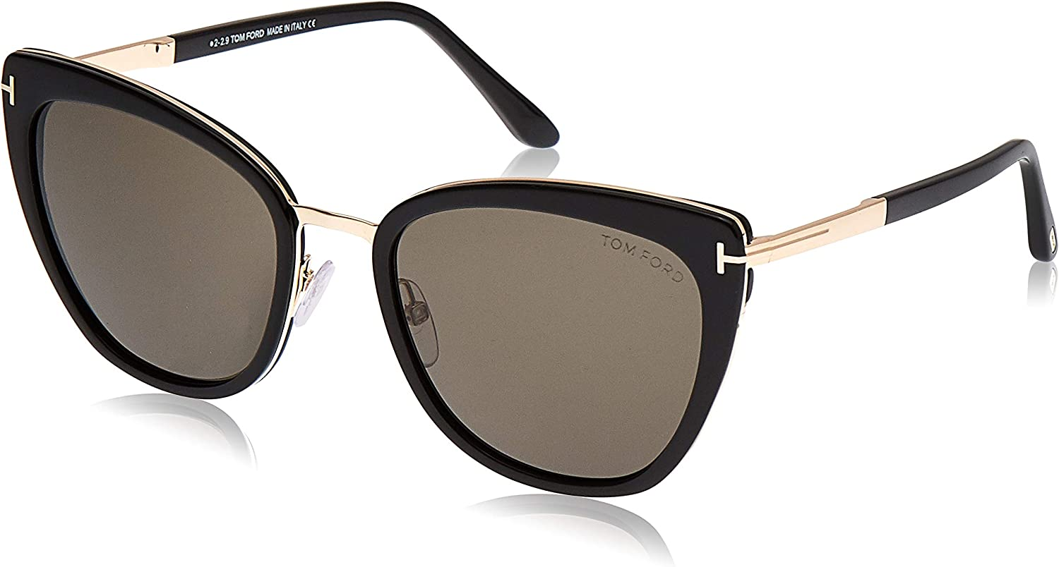 Tom Ford Sonnenbrille Simona (FT0717) Schwarz Glanz