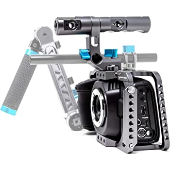 Kondor Blue Full Cage with Top Handle for BMPCC 4K/6K, Space Gray