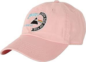 Pink Floyd Men's Split Logo Dad Hat Baseball Cap Pink