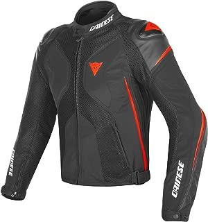 Dainese Men's Super Rider D-Dry Jacket (Black)/Red, 60