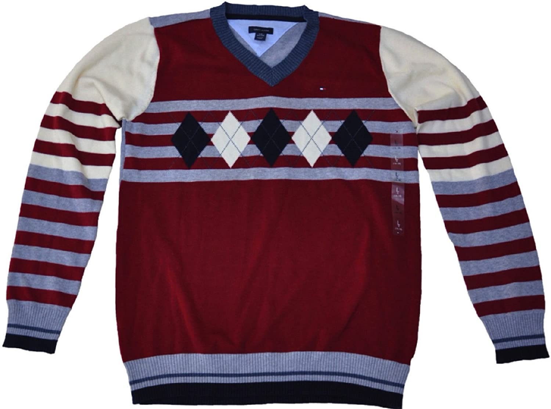 Tommy Hilfiger Max 70% OFF Superior Boys V-Neck Sweater