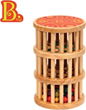 Classic Baby Rainmaker Toy B B Toys by Battat Development Natural Wooden Toys for Toddlers A-Maze Rain Rush Dexterity Toy